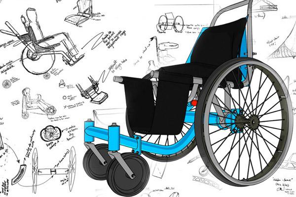 Conceptual development for pediatric wheelchair